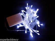 Batería 40 Led Hada De Luces De Navidad Boda Tree Lighting Luz Ambiente