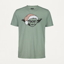 Star Wars Yoda Mens Christmas T Shirt Top Various sizes New with tags