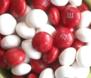 M & M's ~ 1 LB Peppermint White Chocolate Candy  ~ FREE SHIP USA