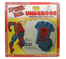Vintage 1978 Spiderman Underoos Underwear That's Fun To Wear New Old Stock Md