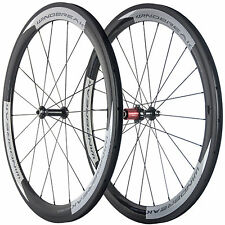 WINDBREAK Road Bike Carbon Wheelset Clincher 50mm Chosen 5877 Carbon Wheels