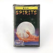 Spirits. sealed taupe soft 1st creation Erbe 1987 videoaventura msx msx2 cassette