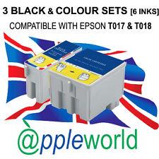 3 sets/6 Tintas Compatibles Con Stylus Color 680 685 777 1000 [ No Epson Original ]