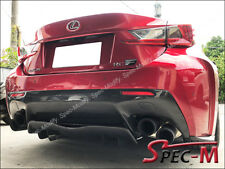 AG Style Carbon Fiber Rear Bumper Add-On Diffuser for 2015+ LEXUS RCF RC-F CF