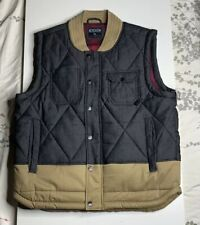 Staple Pigeon Twill Quilted Hunter Vest Size XL