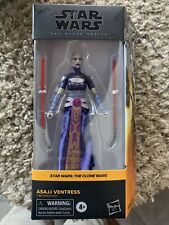 2021 Star Wars Black Series 6 inch #07 The Clone Wars Asajj Ventress In Hand