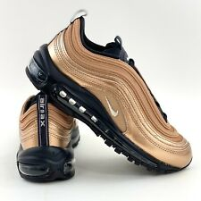 Nike Air Max 97 Metallic Bronze Women's Size 7.5 Sneakers Shoes Black CT1176 900