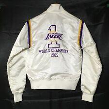 Vintage Los Angeles LA Lakers 1985 WORLD CHAMPIONS Starter Jacket | LADIES S/M