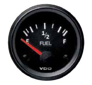 VDO fuel gauge, 12volt, 52mm 2 inch 10 - 180 ohm 301010011