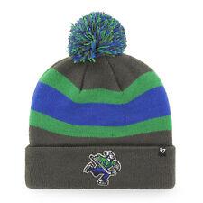NHL Vancouver Canucks charcoal 47 Wollmütze Mütze Breakaway Cuff Knit Hat