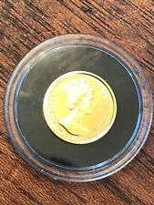 "1998 Gold 1/25th Ounce ""Angel"" Coin from Gibraltar Unc/Gem C R Other Coins/items"
