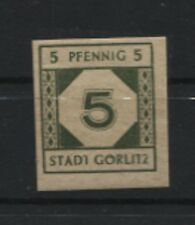 Lokalausgaben Görlitz 1 U postfrisch (B06872)