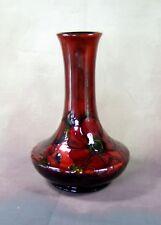 Moorcroft - Flambé Anemone Pattern Vase - Made in England.