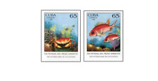 KUB9807 Year of the oceans, fish and crabs 2 pcs