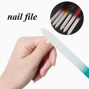Nail File Float Glass Fingernail Sanding Sandpaper Grinding Polishing Manicure