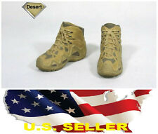"❶❶1/6 LOWA ZEPHYR Tactical Army Desert Military Combat Boot hottoys 12"" figure❶❶"