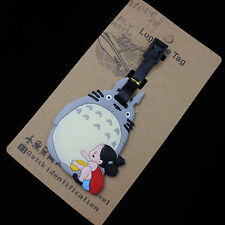 Studio Ghibli Totoro/Mei Luggage Tags Labels NAME ADDRESS ID SUITCASE Bag TRAVEL