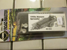 Ghq - 1950s Manure Spreader Metal Kit H O Scale