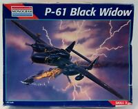 Model Kit Monogram P-61 Black Widow 1995 NIB 7546 Jet