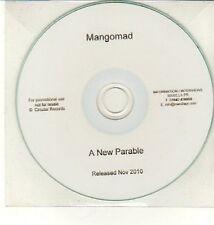 (DC828) Mangomad, A New Parable - 2010 DJ CD
