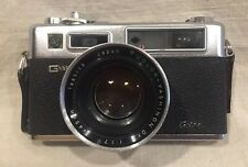 Vintage Yashica Electro 35 GSN 35mm Camera With 3 Aux. Lenses...Nice
