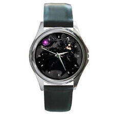 Gothic Mage Wizard  leather wrist watch