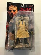 McFarlane Toys Movie Maniacs Series 1 Leatherface figure 1998 Brand New Sealed