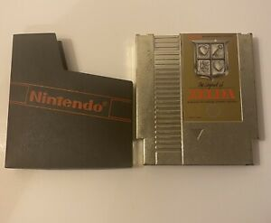 The Legend of Zelda (Nintendo Entertainment System, 1987) Tested And Working
