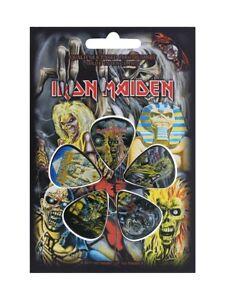 Iron Maiden Frühe Lps Inklusive Killers 5 Plectrum Packung ( Rz )
