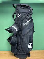 New listing New Lightweight Cleveland Golf Stand Bag 14-Way Divider - Black