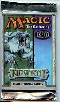 MTG  Judgement Booster Pack WOTC Magic the Gathering New 2002 Z5