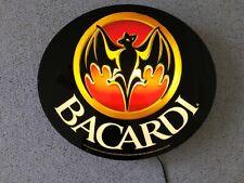 Vintage Bacardi Bar Wall Light Neon Light Advertisement