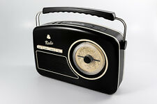 GPO RYDELL RETRO STYLE DAB RADIO BLACK