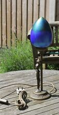 A lovely Heron glass table lamp model number T01/2145