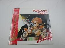 Bubblegum Crisis II OST LB25-5052 with OBI Japan VINYL
