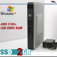 Piccolo MINI PC COMPUTER AMD 2100+ Windows 7 XP Pro Home SSD 2gb rs-232 Dual Video