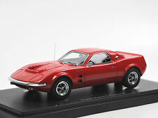 Autocult 06014 - 1967 Ford Mustang Mach 2 Concept Car USA - red 1/43 Limited