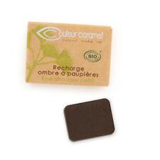 Recharge Fard à Paupières n°81 Brun Intense mate Bio - 1,3 g - Couleur Caramel