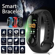 Sport Health Waterproof Fitness Smart Watch Activity Tracker Bracelet Wrist Band
