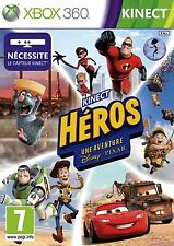 KINECT HEROS UNE AVENTURE DISNEY JEU XBOX 360 NEUF