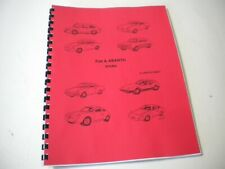 Fiat & Abarth Tricks by Greg Schmidt-An owners manual of maintenence & upgrades
