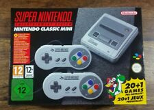 SUPER NINTENDO SNES CLASSIC MINI BRAND NEW UNOPENED DAY ONE RELEASE