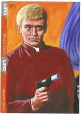 UFO Trading Cards Sketch Card drawn by David Day [ Dual Sketch ]