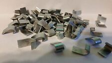 4 Lbs. Zinc Plated J Clips. Cage Clips for Rabbit, Poultry, Game Bird Cages.