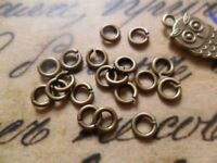 100 x 4mm Jump rings bronze jumprings High quality jewellery findings