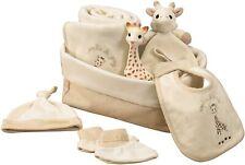 So'Pure Sophie the Giraffe Large Gift Set Basket Comforter Blanket Teether Bib