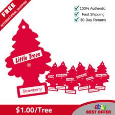 72 Little Trees Hanging Air Freshener Strawberry Magic Tree Scent - $1.00/tree