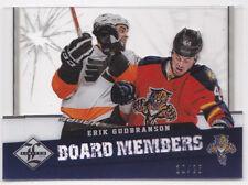 12-13 Limited Erik Gudbranson /25 Die Cut SP Board Members 2012