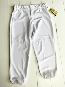 Intensity Women's Athletic Fit Low-Rise Double Knit Softball Pant N5300 White