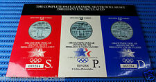 1984 Three Mintages of the U.S. Olympic Silver Dollar Brilliant Uncirculated
